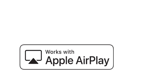 With AirPlay 2 built-in, you can effortlessly play videos and music, or share photos from your iPhone, iPad and Mac on your Terrace TV. So sit back, relax and enjoy it all on the big screen.