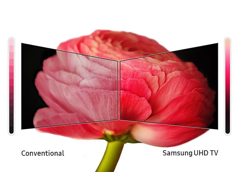 """Samsung 58"""" Class RU7100 Smart 4K UHD TV"""