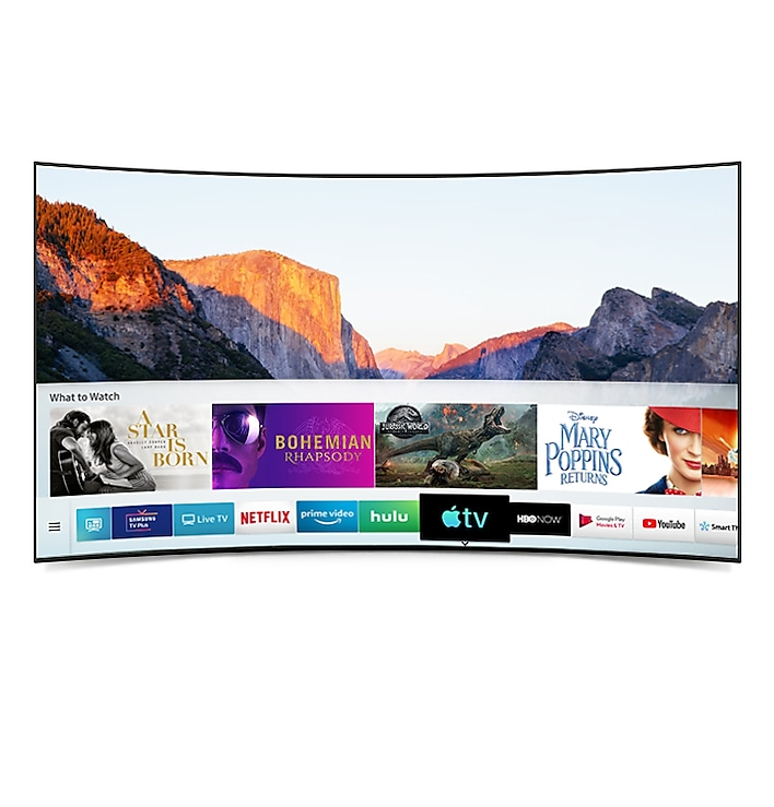 Samsung UHD TV meets the new Apple TV app