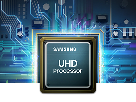 Optimized picture performance with 4K UHD Processor