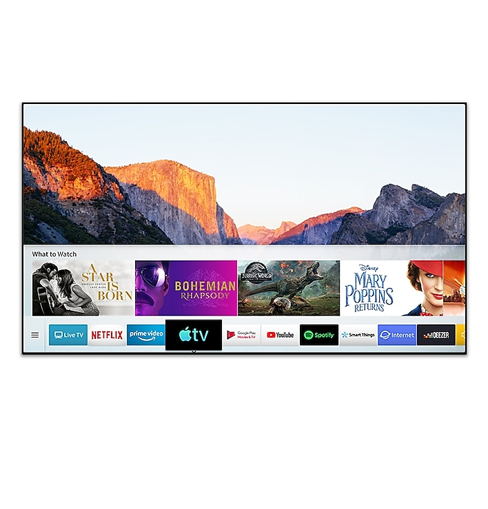 Samsung UHD TV meets the new Apple TV app
