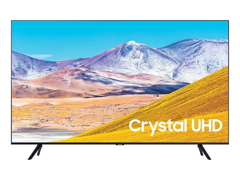 50 Class Tu8000 Crystal Uhd 4k Smart Tv 2020 Tvs Un50tu8000fxza Samsung Us