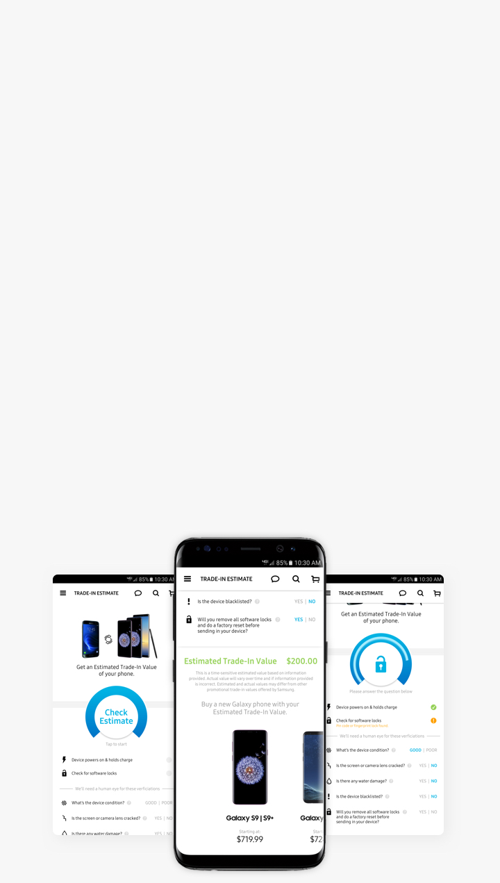 Samsung Trade-in: Save on the Galaxy S9 & Galaxy Note9