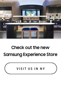 Check out the new Samsung Experience Store