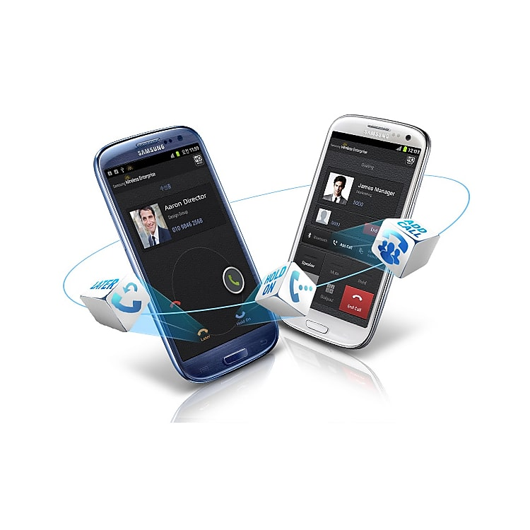 WE VoIP Smartphone Application IPX-LSMP/STD | Samsung Business