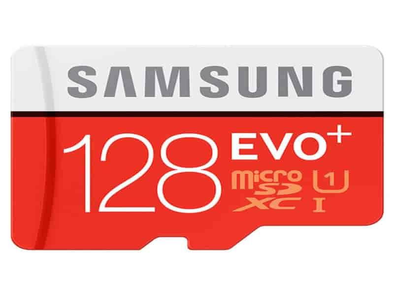MicroSXCD EVO+ Memory Card w/ Adapter 128GB