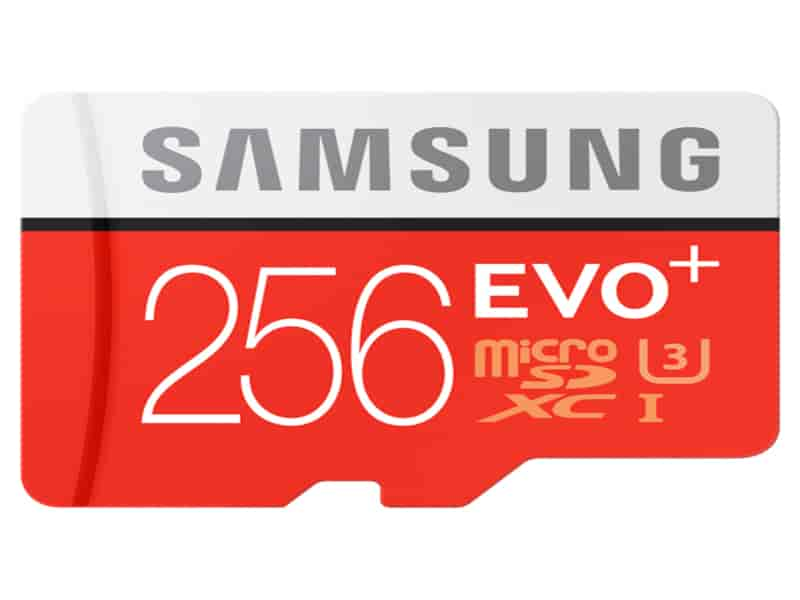 Micro SD EVO+ 256GB Memory Card w/ Adapter Memory & Storage - MB