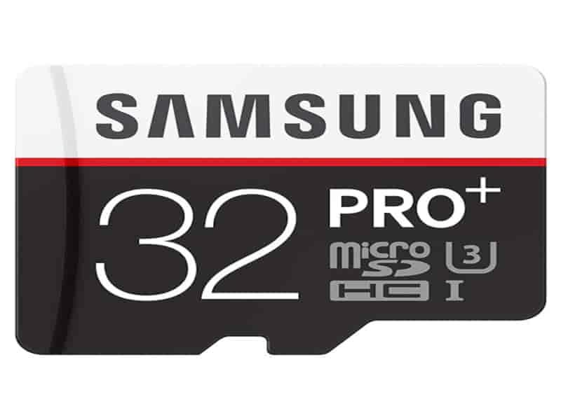 MicroSDHC PRO+ Memory Card w/ Adapter 32GB