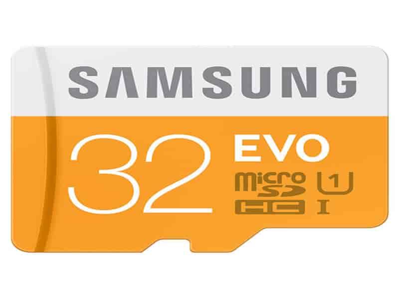 MicroSDXC EVO Memory Card w/ Adapter 32GB