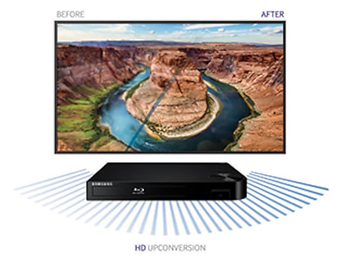 Samsung Bd P1500 Blu Ray To Tv With Hdmi Cable Connection