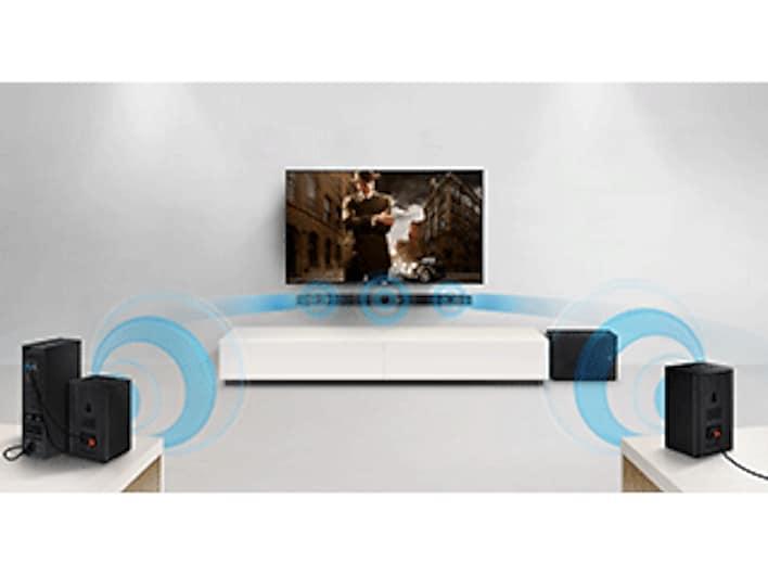 HW-K550 Soundbar w/ Wireless Subwoofer Home Theater - HW ...