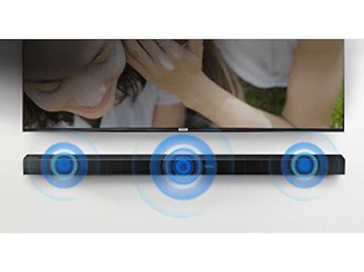 HW-K550 Soundbar w/ Wireless Subwoofer Home Theater - HW