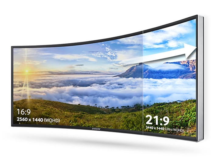 Immersive Curved Viewing Experience