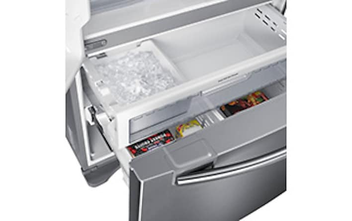 36 Inch 26 Cu Ft French Door Refrigerator Rf26hfendsr