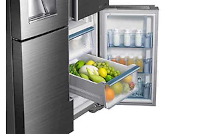 34 cu  ft  4-Door Flex™ Chef Collection Refrigerator, with Sparkling Water  Dispenser