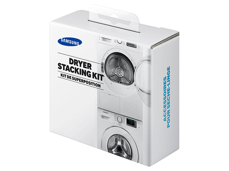 Sk Dh Stacking Kit For Samsung 24 In Wide Front Load Laundry Pairs