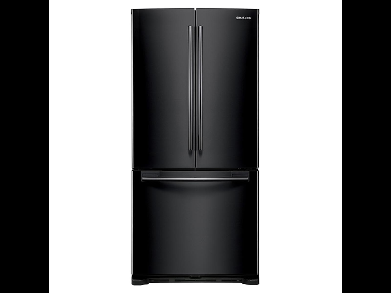 Samsung 20 cu. ft. French Door Refrigerator in Black (RF20HFENBBC/US)
