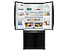 Thumbnail image of 20 cu. ft. French Door Refrigerator in Black