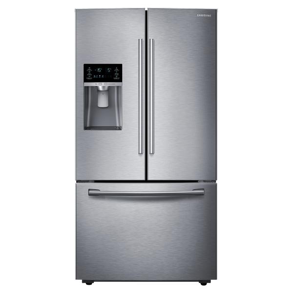 23 Cu Ft French Door Refrigerator In Stainless Steel