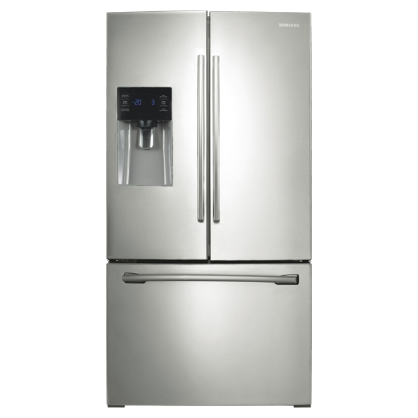25 cu  ft  French Door with External Water & Ice Dispenser Refrigerators -  RF263BEAESR/AA | Samsung US