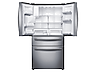 "Thumbnail image of 28 cu. ft. 4-Door Refrigerator with 8"" Wi-Fi Enabled LCD and Counter-Height FlexZone™ Drawer"