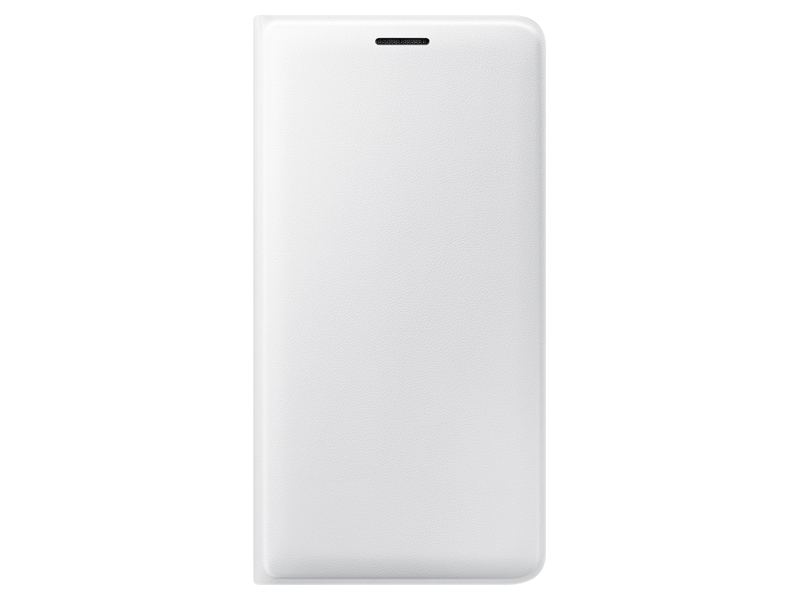 wholesale dealer e83f7 6234e Galaxy J3 Wallet Flip Cover - White