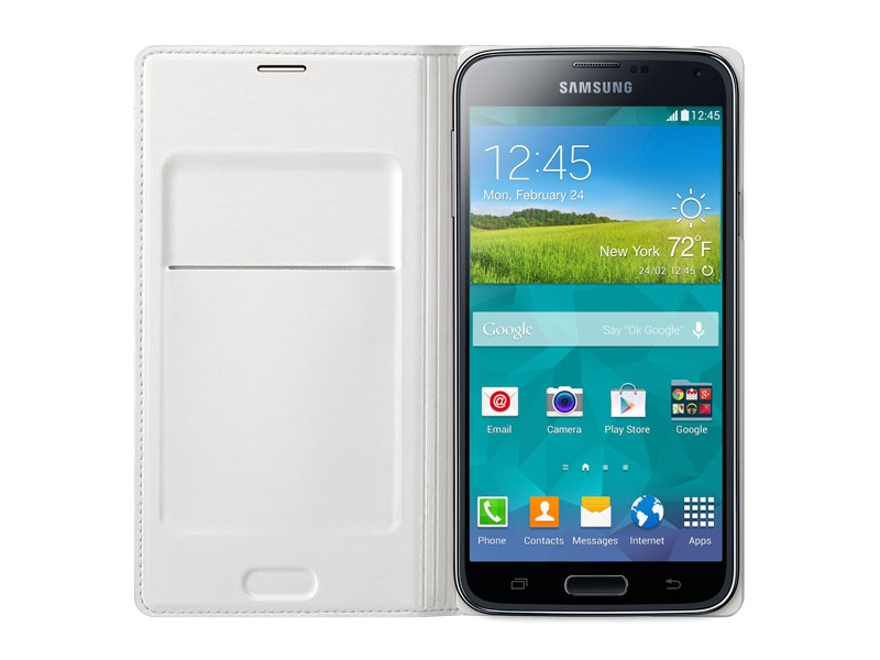 info for 94660 50fb1 Galaxy S5 Wallet Flip Cover