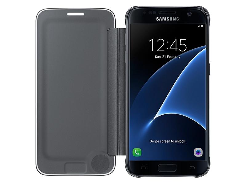 647d2376f Galaxy S7 edge SView Flip Cover Mobile Accessories - EF-ZG935CBEGUS ...