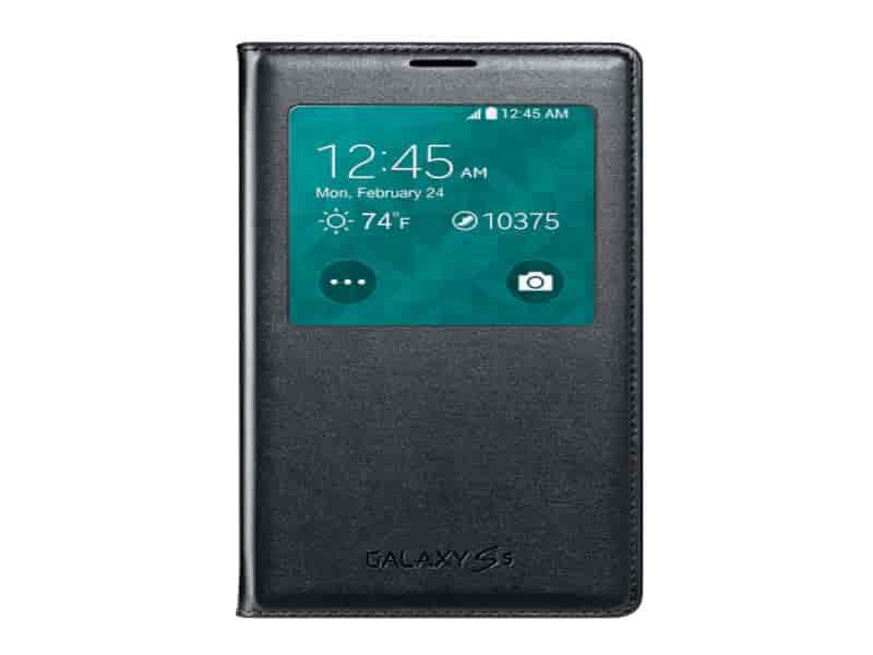 Galaxy S5 Wireless Charging SView Flip Cover