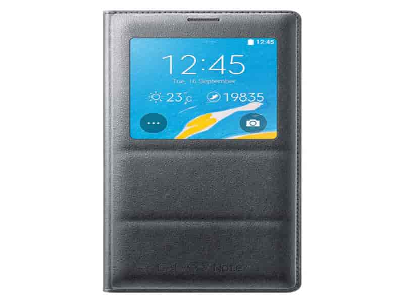 Galaxy Note 4 Wireless Charging Qi SView Flip Cover