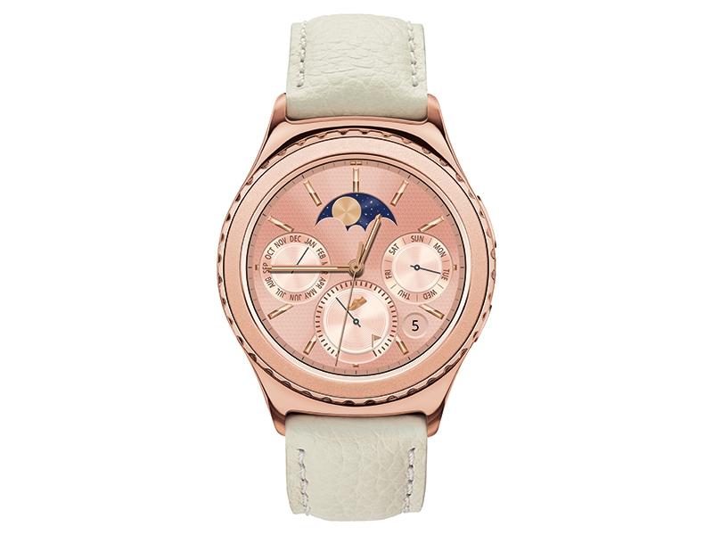 Samsung Gear S2 Classic Rose Gold Smartwatch Sm R7320zdaxar