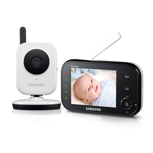 Babyview Baby Monitoring System Security Sew 3036w