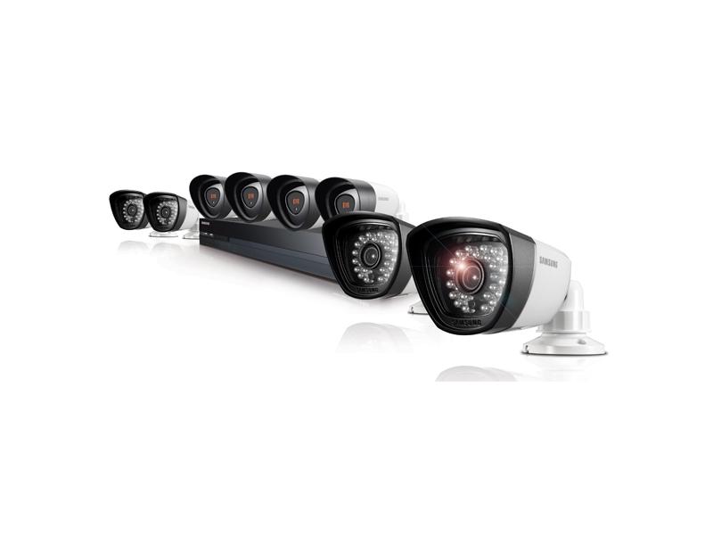 SDH-P5081 8 Camera, 16 Channel 1080p Hybrid DVR Security System