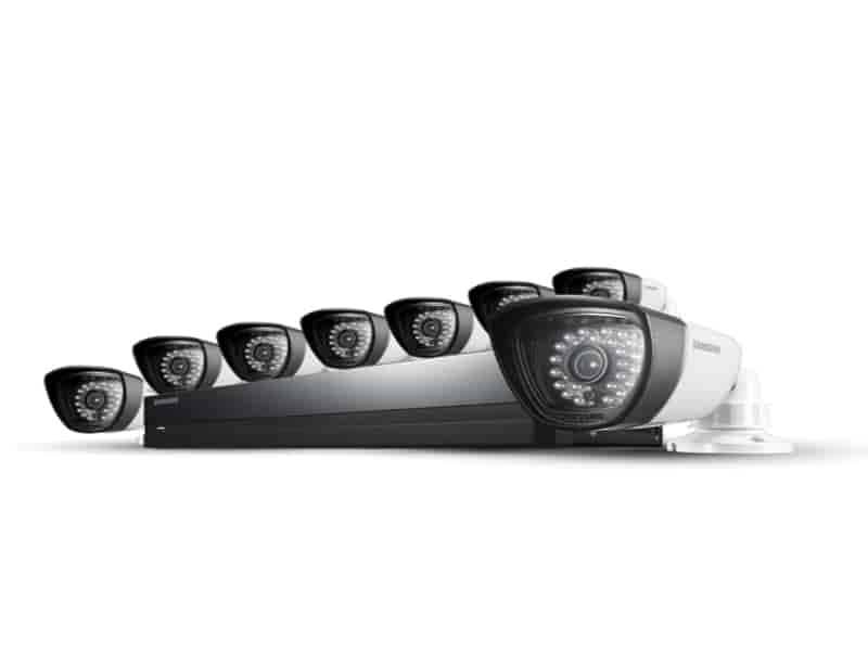 SDS-P5082 8 Camera, 16 Channel 960H DVR Security System