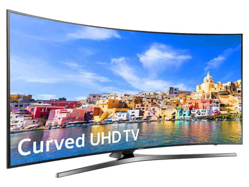 """55"""" Class KU7500 Curved 4K UHD TV"""