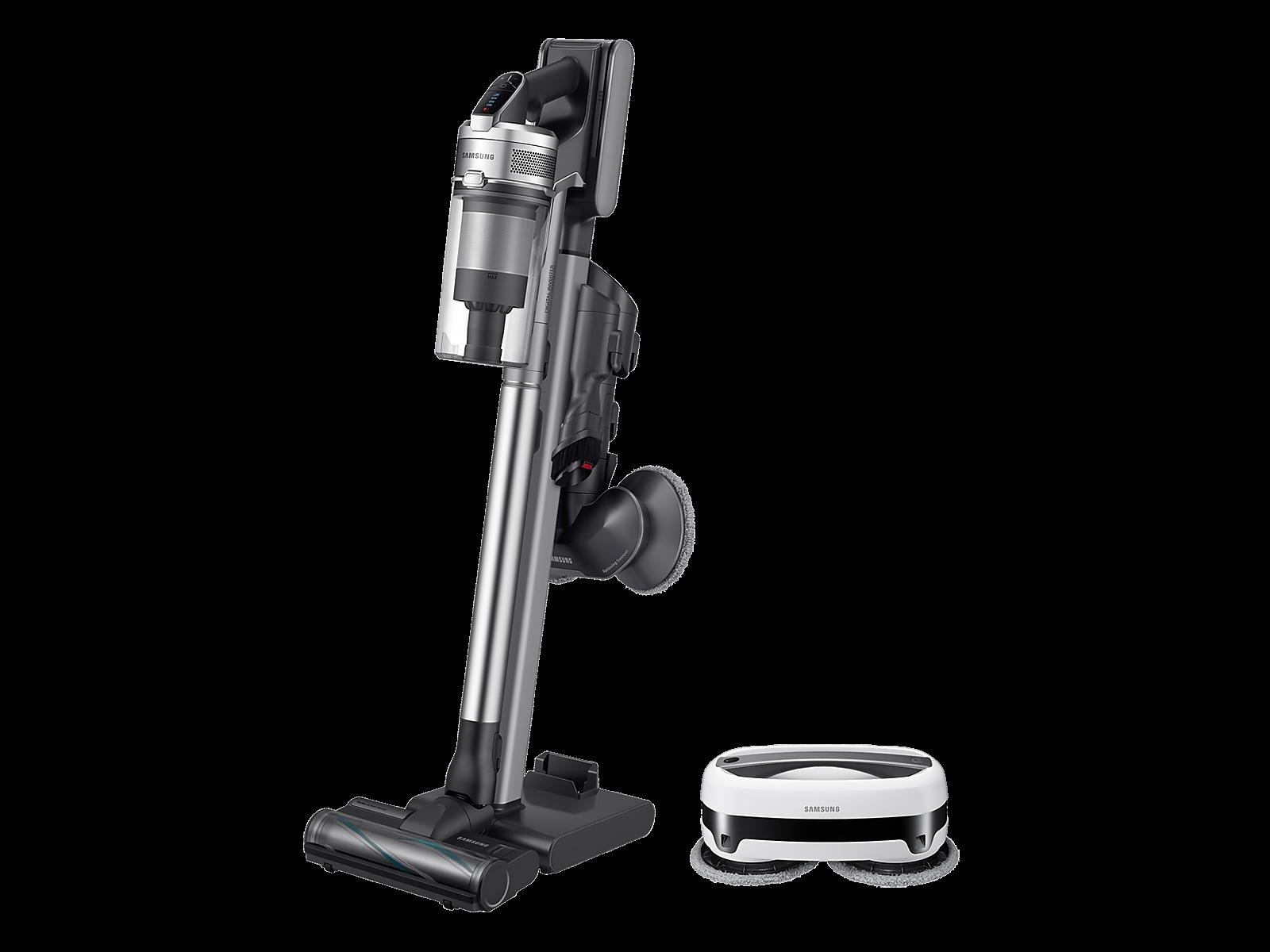 Samsung coupon: Samsung Jet 90 Cordless Stick Vacuum with Jetbot Mop Cleaner Home Bundle(BNDL-1611089445533)