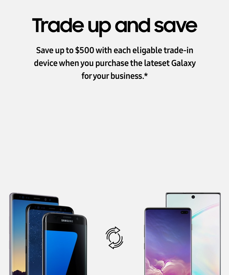 Samsung Trade In for Business