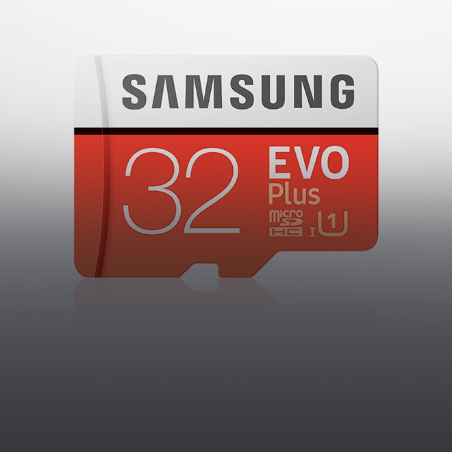 Save $8 each on EVO Plus microSD Memory Card 32GB