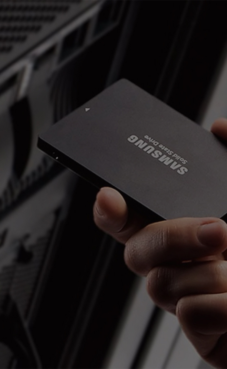 Samsung SSDs for business