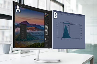 split screen monitor