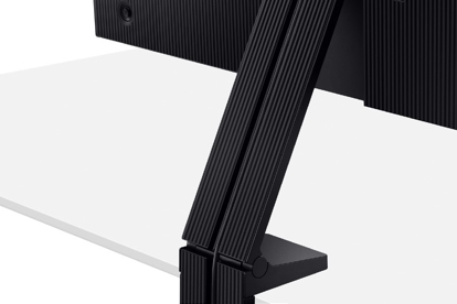 durable monitor hinge for screen positioning