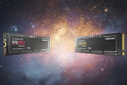 970 PRO and 970 EVO SSDs