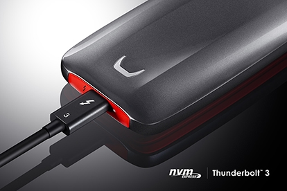 Thunderbolt 3 and NVMe SSD
