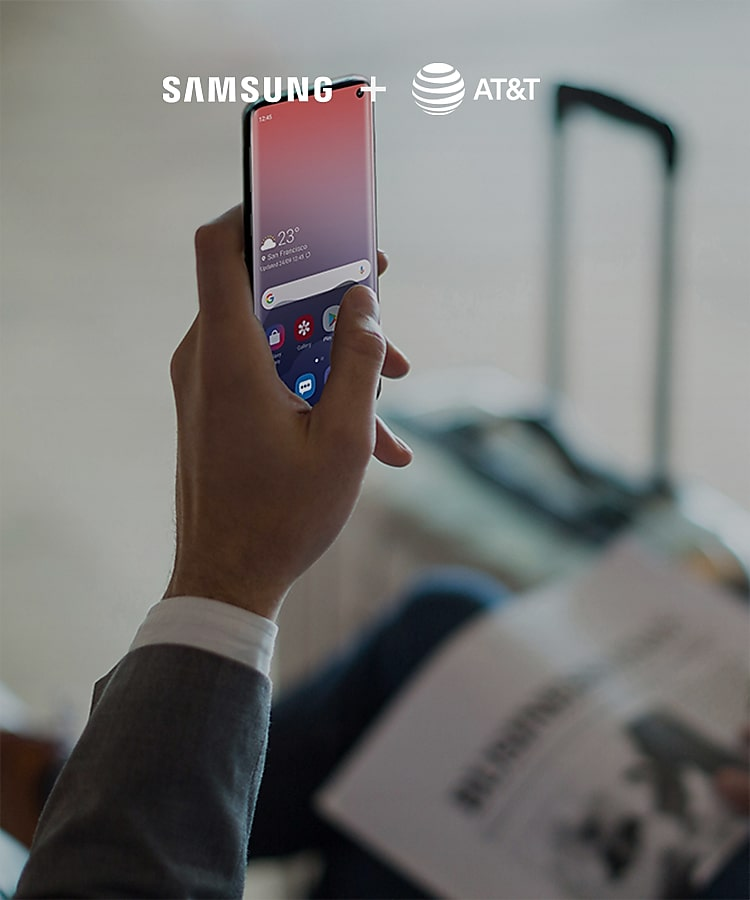 AT&T Samsung Business Phone Offers & Solutions | Samsung Business