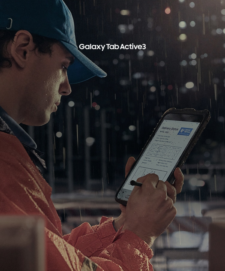 Samsung Galaxy Tab Active3 rugged android tablet