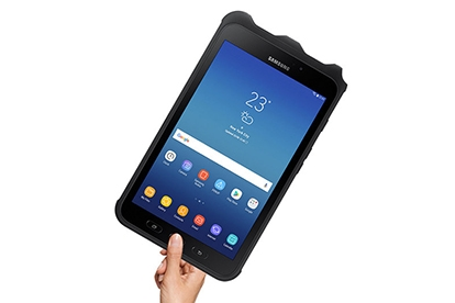 tablet with fingerprint scanner
