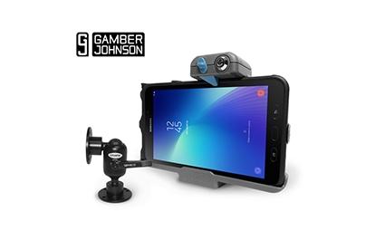 Galaxy Tab Active2 Gamber-Johnson bundle for transportation