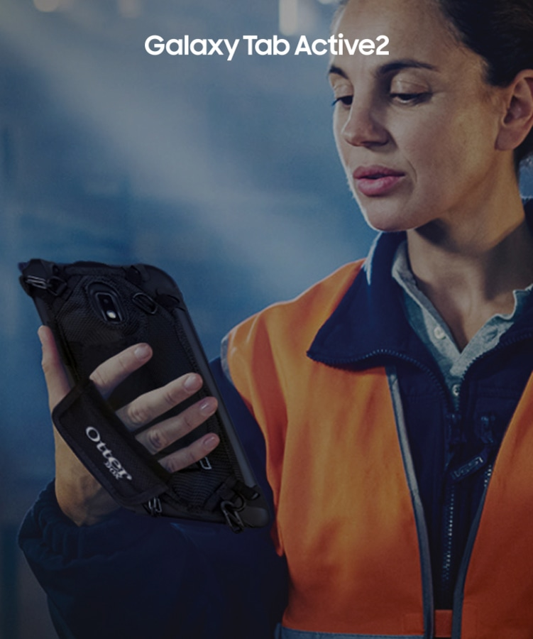 Samsung Galaxy Tab Active 2 rugged android tablet