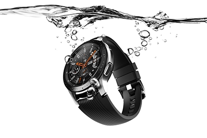 water resistant smartwatch