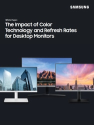 The Impact of Color Technology and Refresh Rates for Desktop Monitors